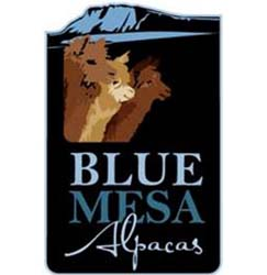 blue mesa alpaca logo