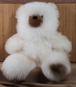 super size alpaca teddy bear