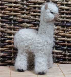 felt mecha alpaca toy