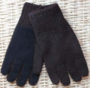 alpaca driving gloves