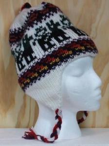 alpaca ear flap hat