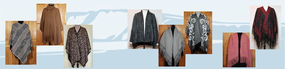 alpaca shawls and alpaca ruanas