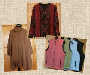 alpaca clothing collage