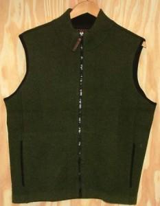 Green Bucksport Zip Vest