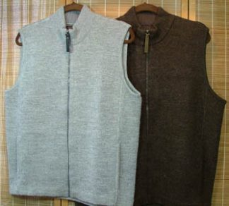 men's eco zip vest group