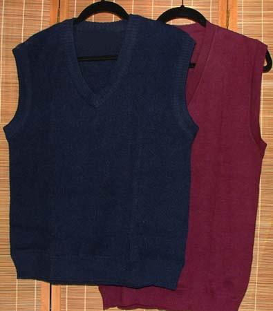 classic v-neck vests